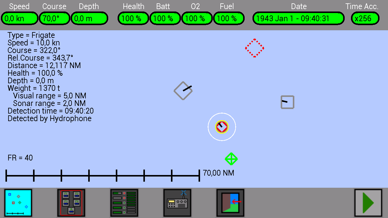 U Boat Simulator For Android Web Site Instructions Map Free Circuit Simulation Software Screenshot Selezione